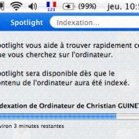 Indexation spotlight