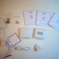 Le thermostat et l'ensemble de ses accessoires