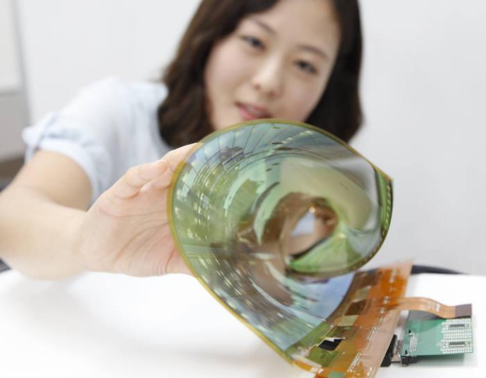 Les écrans OLED peuvent être flexibles