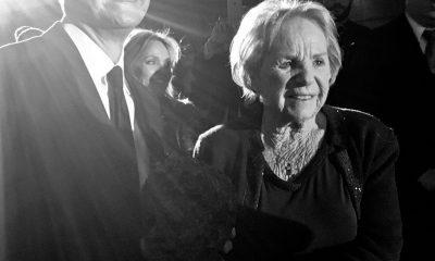 Avec Ethel Kennedy, la veuve de Robert Francis Kennedy