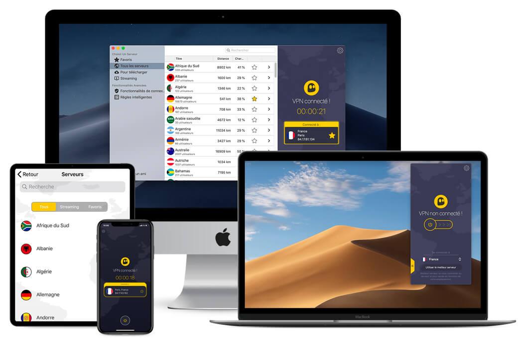 Applications CyberGhost Apple