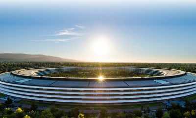 Vue de l'Apple Park à Cupertino