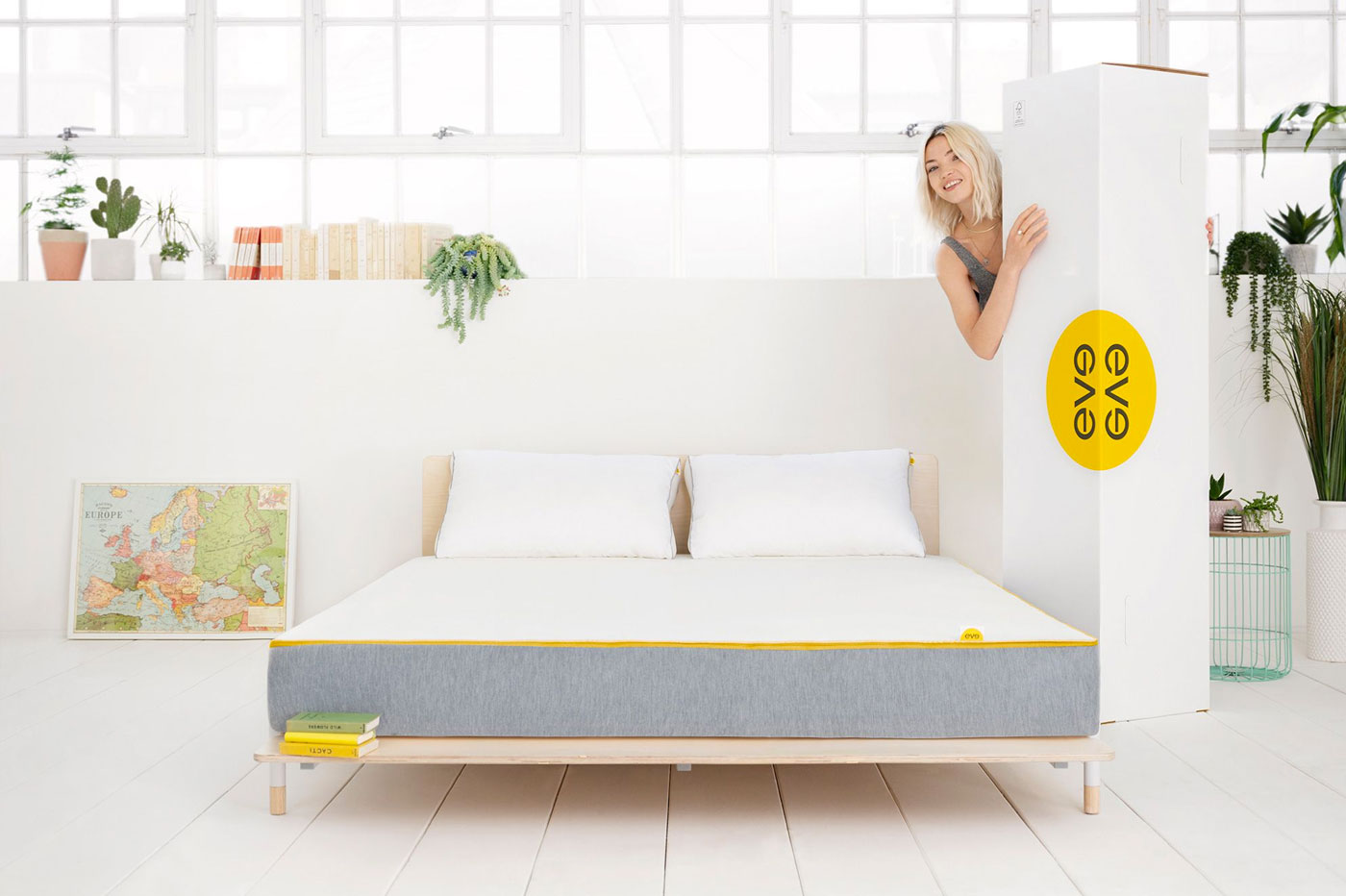 Matelas Eve Hybrid Light