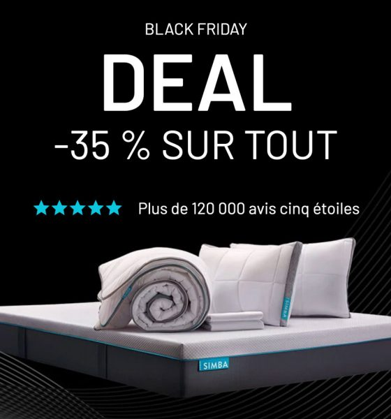 Matelas Black Friday