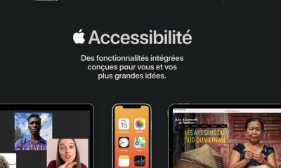 Apple Accessibilité