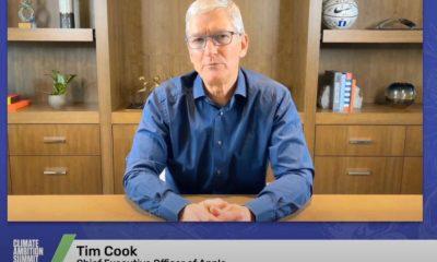 Tim Cook au sommet sur le climat