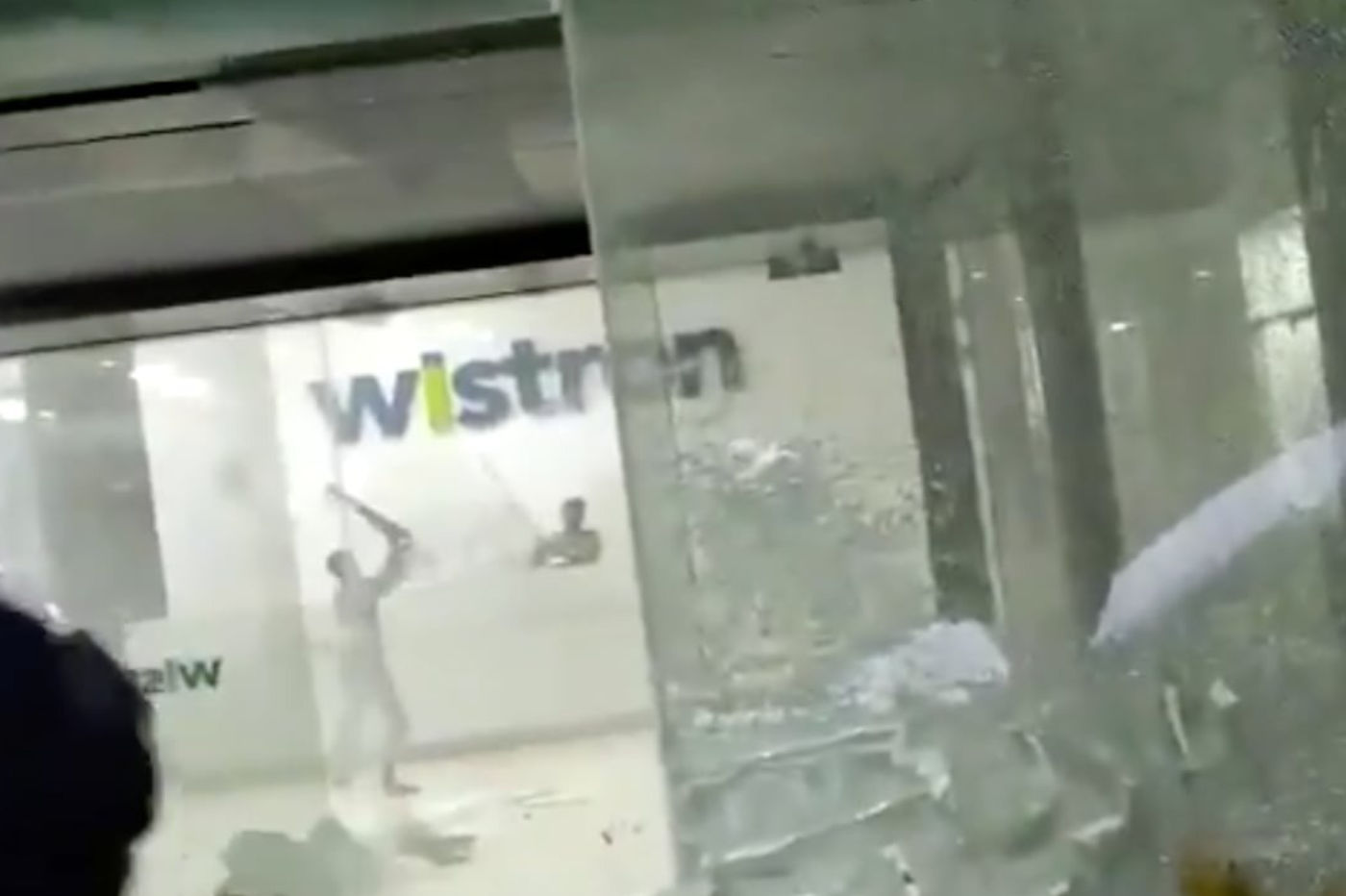 Wistron émeute usine