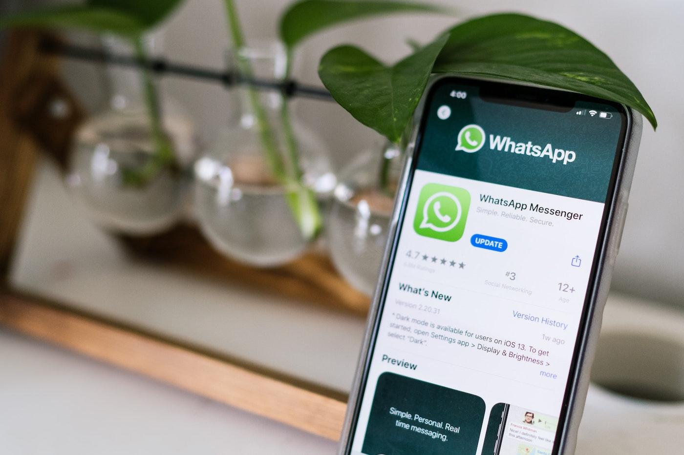 Ce record qu'a battu l'application pour le nouvel an — Whatsapp